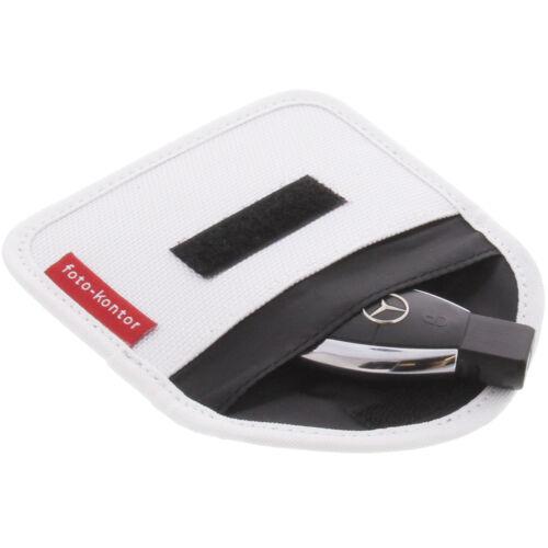 Protección radiológica bolso para keyless clave entry Open Go antirrobo blanco