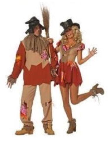 Spaventapasseri Costume Vestito Strega party discoteca Hippie uccelli stronzetto Costume Cappello