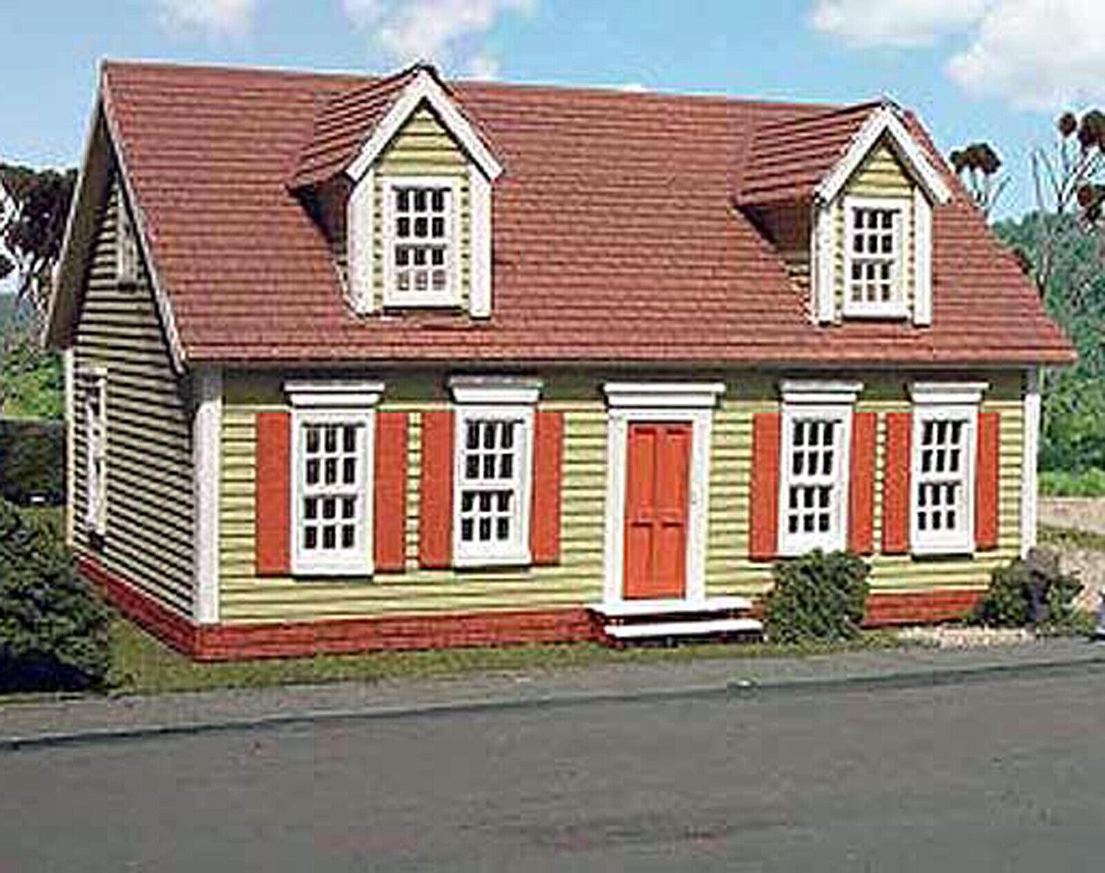 MAXWELL HOUSE HO Historic modellolo Railstrada Structure Unpainted Laser Kit LA610