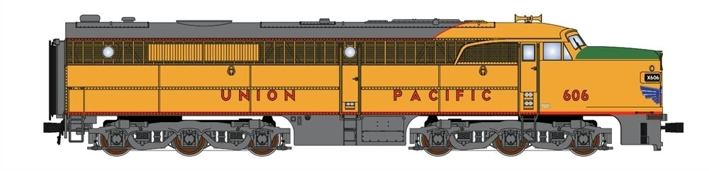 Broadway Ltd 3217 N PA UP  607  Union Pacific  +Sound - Brand Nuovo C-10 Mint
