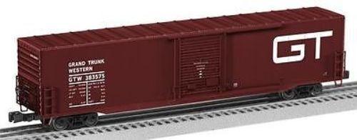 LIONEL 6-27086 STANDARD O GAUGE Grand Trunk 60' Boxcar Car  383575 NEW