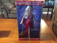 NIB NRFB BARBIE DOLL DIVA COLLECTION RED HOT 2002 PROD CODE 56707 COLLECTOR EDIT