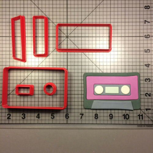 Cassette 100 Cookie Cutter Set
