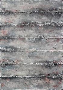 """A. MAJER """"sieben wege"""" MAK UNIKAT acryl abstrakt gemälde leinwand bild"""