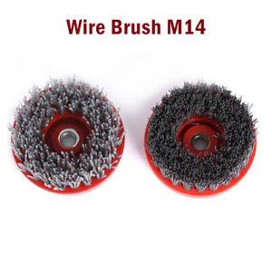 Universal-M14-Twist-Knot-Coupe-Brosse-metallique-peu-Roue-Pour-Perceuse
