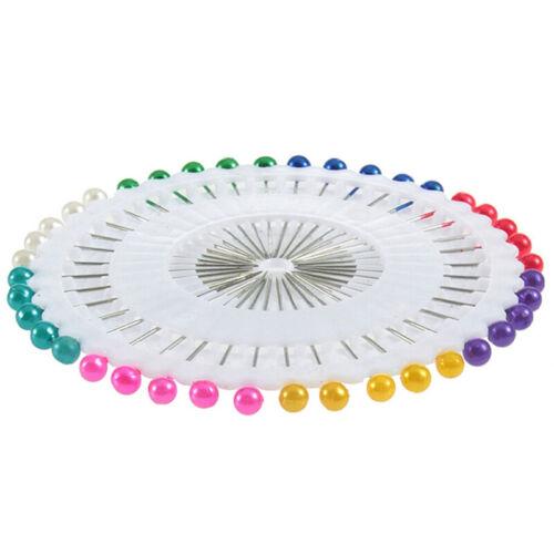 Perlmuttnadeln 40 Stück farbige Perlmuttnadeln Nähzubeh/>p X0DE