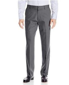 Dockers-Men-039-s-Classic-Stretch-Signature-Flat-Khaki-Pants-Burma-Grey-34x34-xE
