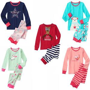 3 4 7 NWT PJs Pajamas Sleepwear *Retail Store* Gymboree Girl Long Gymmies