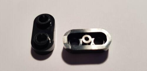 LEGO® 4 x 35480 Platte 1 x 2 schwarz mit 2 offene Noppen 6210270 N70