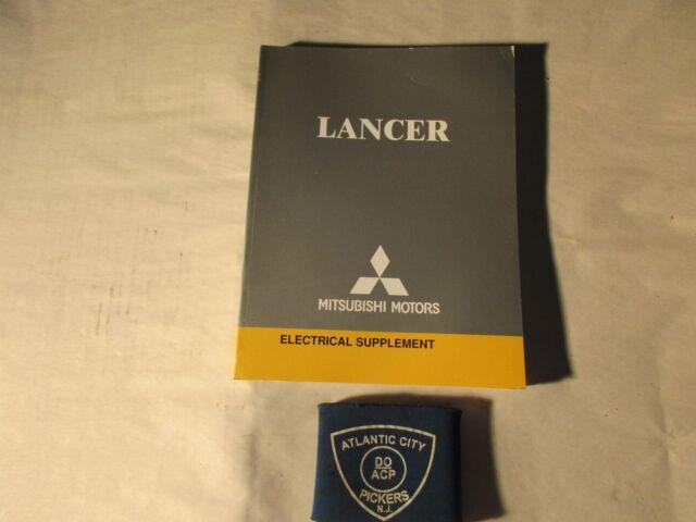 2004 MITSUBISHI LANCER ELECTRICAL WIRING DIAGRAM ...
