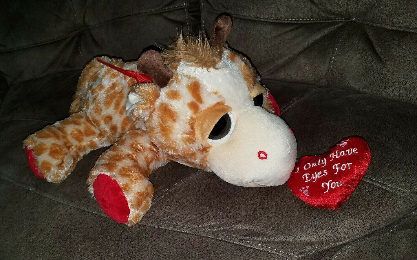 20  GIRAFFE Plush LARGE EYES Inter-American Products Valentine's Day
