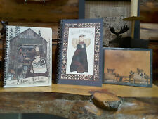 Saltbox Illustrations Address Book Amp Quilt Journalampprimitives By Cathy Note Pad