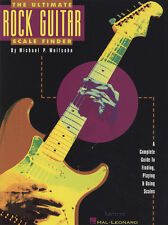 The Ultimate Rock Guitar Scale Finder TAB Music Book by Michael Wolfsohn