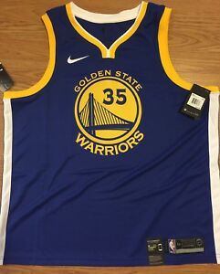 separation shoes 0e05e ff960 Details about NIKE NBA GOLDEN STATE WARRIORS KEVIN DURANT SWINGMAN JERSEY  SIZE YOUTH XL