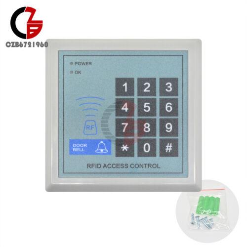 RFID Access Control Machine Security Entry Door Lock System EM Card Max 250 User