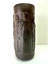Vase en grès art nouveau art deco 1900 Jugendstil à identifier 29 cm  CIRCA 1900
