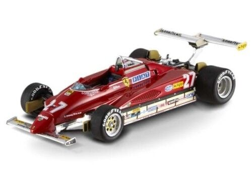 1 FERRARI 126 C2 GP USA VILLENEUVE 2 1 43 MATTEL ELITE
