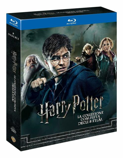 Harry Potter: Complete Collection/Komplettbox  Blu-Ray-Set 1+2+3+4+5+6+7.1+7.2