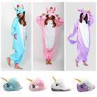 Cartoon Unicorn Sleepwear Animal Costumes Cosplay Pyjamas Pajamas Unisex Tenma