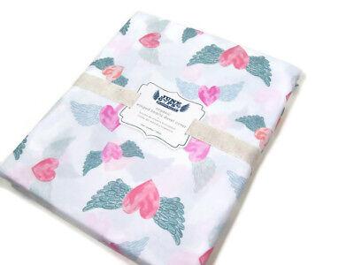 NEW Pottery Barn Kids 100/% organic cotton star duvet cover orange toddler size