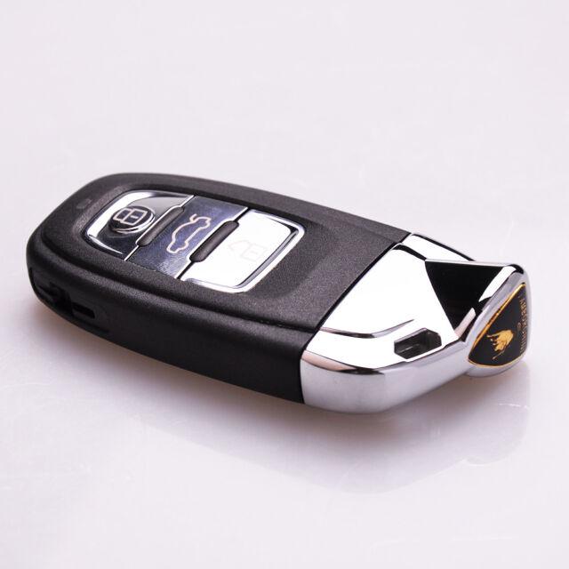 Smart Remote Key Fob Modified As Lamborghini For Audi 8t0959754c