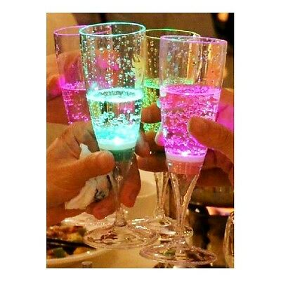 LED All Occasions Wine Glasses - Liquid Activated Wine/Champagne x 1 Wine Glass