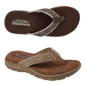6542672215bb7c Image is loading Skechers-Supreme-Bosnia-Thong-Men-039-s-Sandals-