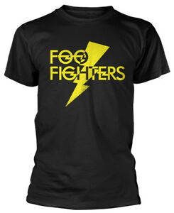 FOO-FIGHTERS-039-Lightning-Strike-039-T-SHIRT-NUOVO-E-ORIGINALE