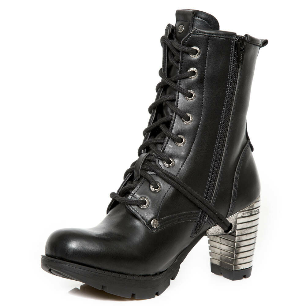 New New New Rock NR M.TR001 VS56 Schwarz - Stiefel, Vegan, Trail, Damen c36f3c