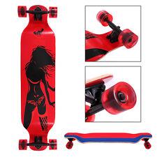 Longboard Complete 41 x 9.5in. Cruiser Speed skateboard Downhill Canadian Maple