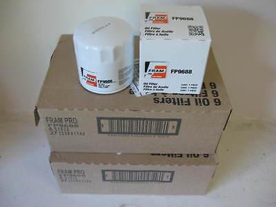 Fram Pro FP9688 Oil Filter CASE LOT( 12 TWELVE) fits PH9688 L14459 51334 51344
