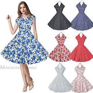 Maggie-Tang-50s-60s-Pin-up-Vintage-Dancing-Swing-Jive-Rockabilly-Dress-Skirt-512
