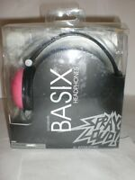 Spray Louds Basix Headphones Pink/black In Package 40mm