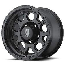 "16 Inch Black Wheels Rims Dodge RAM 2500 3500 8x6.5 Lug XD Series XD122 16x9"" 4"