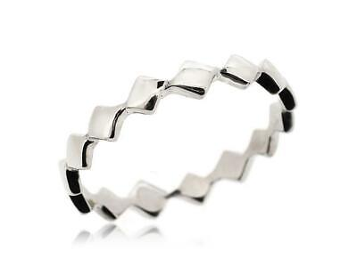 Beautiful 925 Sterling Silver Square Women Thumb Rings Jewelry New Size 5 12 Ebay