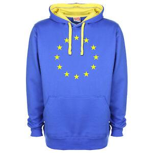 Eu Europäische Union Stars Flagge Brexit Remain Königsblau Premium Sweatshirt