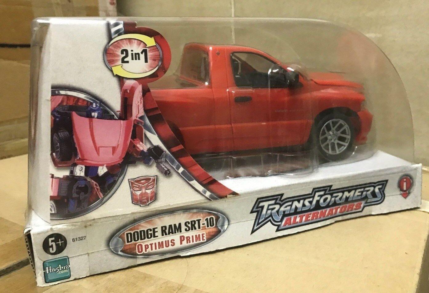 Transformers Transformers Transformers Alternators Robots in Dodge Ram SRT-10 Optimus Prime 25ff76