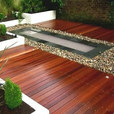 145 x 21mm Smooth Balau Decking/Contemporary/Timber/Hardwood Deck Boards