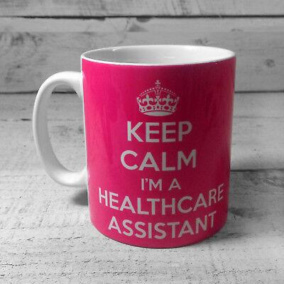 Keep Calm I/'m A Student Nurse Gift Mug Cup In Carry On Style Blue Nursing Mug