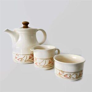Vintage Biltons Tea pot ,sugar bowl and milk jug /Pattern Spring ...