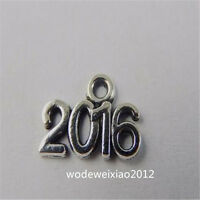 50pc Retro Tibetan Silver Bead Charms 2016 Accessories Jewelry Wholesale JP1076