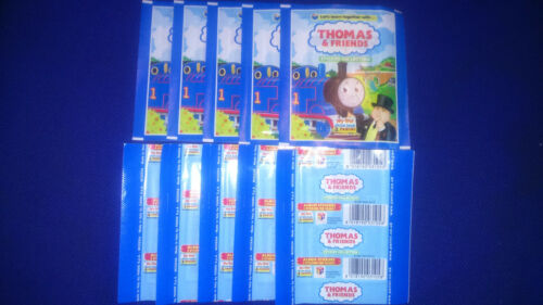 50 UNOPENED STICKER PACKS THOMAS AND FRIENDS PANINI