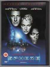 (GU756) Sphere - 1998 DVD