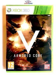 Armored-Core-V-Xbox-360-Neuf-Scelle-Retro-Videojuego-Scelle-Nouveau-Spa