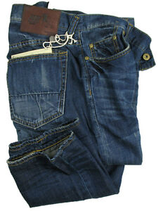 PRPS-Goods-amp-Co-Jeans-Fury-in-W33-L34-Relaxed-Tapered-linen-Denim