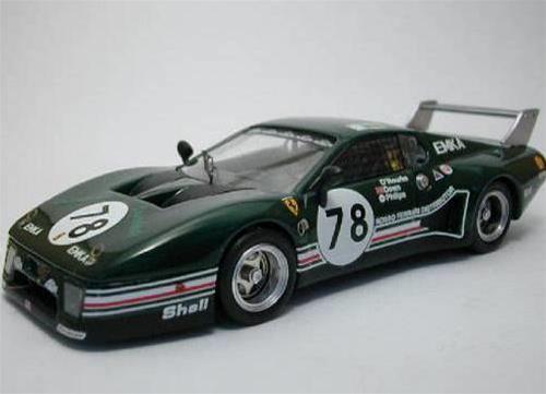 Ferrari 512 BB Le Mans 1980 1 43 Best be9285 model car modele