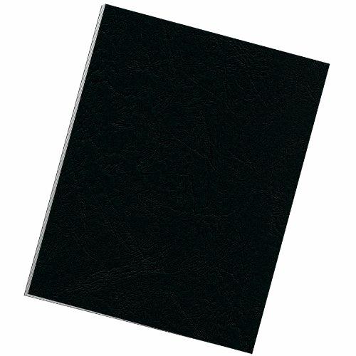 25 Pack Binding Grain Presentation Covers Letter Black classic grain texture