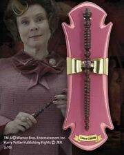 Official Harry Potter The Wand of Delores Umbridge with wall display by Noble