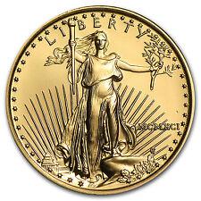 1991 1/4 oz Gold American Eagle Coin - Brilliant Uncirculated - SKU #4709