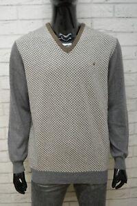 BROOKSFIELD-Uomo-Taglia-XL-Maglione-Maglia-Pullover-Cardigan-Sweater-Man-Lana